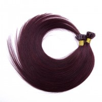 18-24 Inch Straight Nail Tip Remy Hair Extensions #99J
