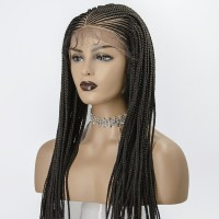 13x5 Knotless Hand Braided Lace Wig