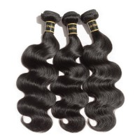 "10A 12""/14""/16"" Virgin Hair Body Wavy 3 Bundles Sample"