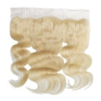 "10-20 Inch 13"" x 4"" Body Wavy Free Parted #613 Frontal"