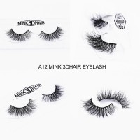 3D Mink Eye Lashes A12