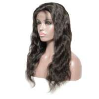 """16-28 Inch Pre-Plucked 13""""x4"""" Lace Front Body Wavy Wig Human Hair Free Part 150% Density"""
