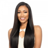 Full Lace Wig 150% Density Straight Virgin Hair