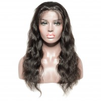 Undetectable Transparent 13x6 Frontal Lace Wig 150% 10-22 Inch Body Wavy